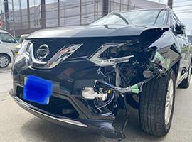 愛知・名古屋エリアの事故車・廃車事例:エクストレイル 20X エマージェンシーパッケージ