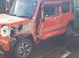 千葉、茨城エリアの事故車・廃車事例:ハスラー ハイブリッドX ターボ