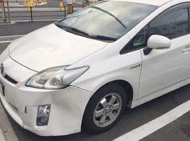 京都エリアの事故車・廃車事例:ハリアー