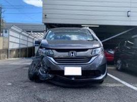 静岡、浜松エリアの事故車・廃車事例:フリードハイブリッド