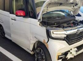 東京、埼玉、さいたま市エリアの事故車・廃車事例:N BOXカスタム