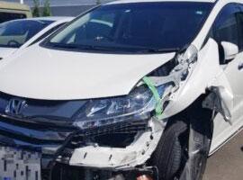 東京、埼玉、さいたま市エリアの事故車・廃車事例:ホンダオデッセイハイブリッド