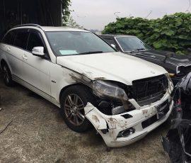 事故車買取 ベンツCクラス 川崎市高津区