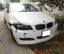 事故車買取BMW 320Iツーリング 神奈川県藤沢市