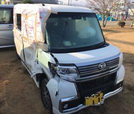 事故車買取 タントカスタム 香川県