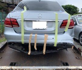 事故車買取 メルセデスベンツE350 横浜市
