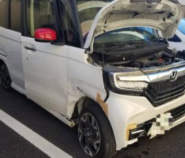 事故車買取 N BOXカスタム 埼玉県越谷市