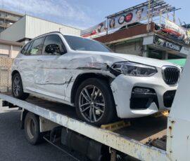 事故車買取 BMW X3 神奈川県横浜市