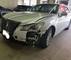 事故車買取 クラウンハイブリッド 東京都渋谷区